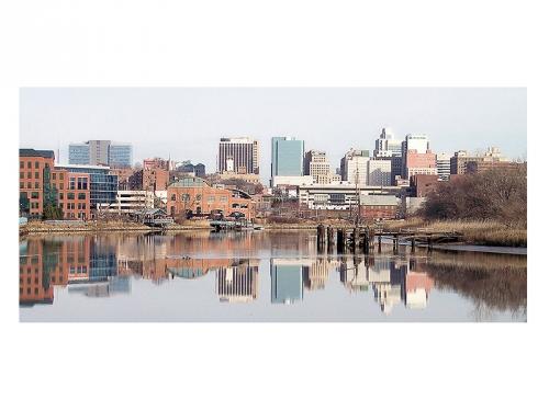 Изглед от град Уилмингтън, където д-р Георгиев живее и работи над 50 години.