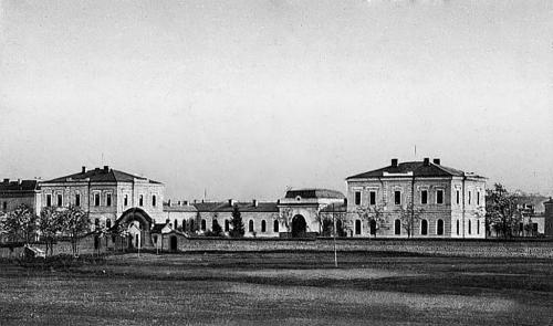 """Болница """"Княз Александър I""""- днес Александровска болница."""